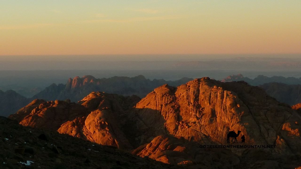 El Ahmar, Sinai, Go tell it on the mountain_result