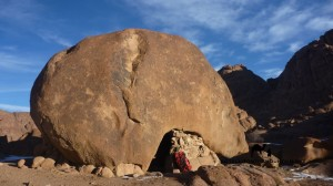 Hermit cell, Sinai, Go tell it on the mountain_result