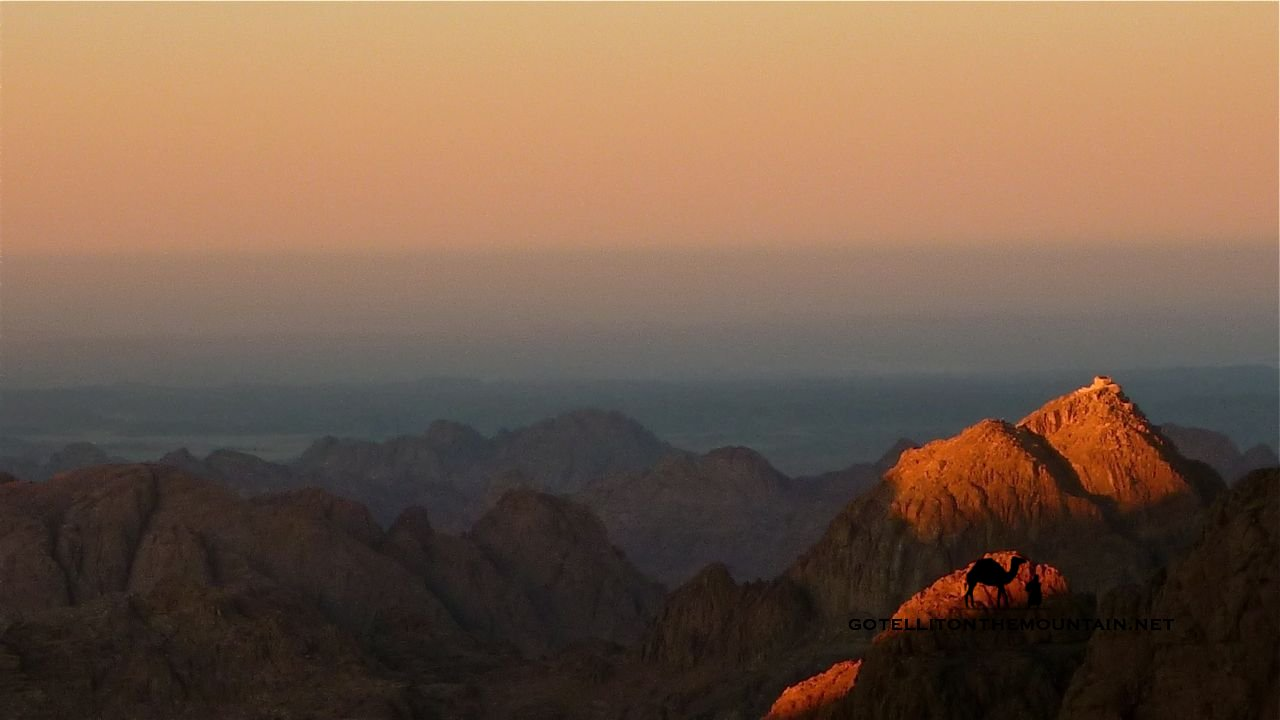 Five holy peaks of the Sinai | Go Tell It on the Mountain